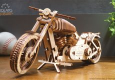 Ugears motorcycle 3d puzzle