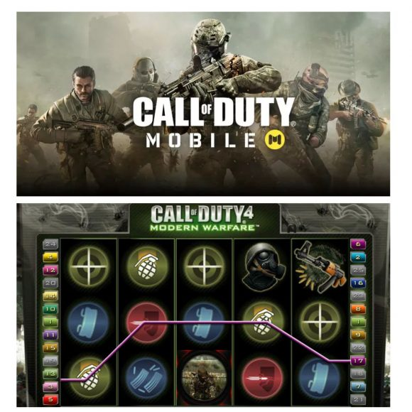 call of duty slots