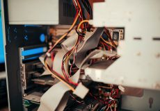 inside a broken computer