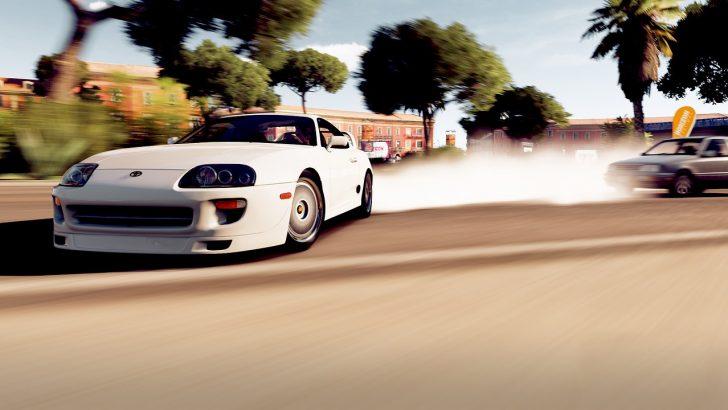 racing game supra