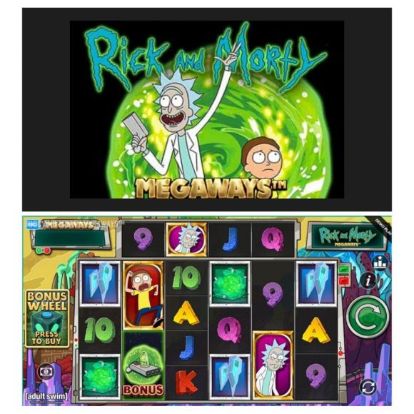 ricky and morty slots 1