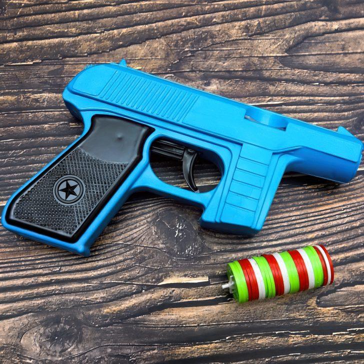 blue tracer gun