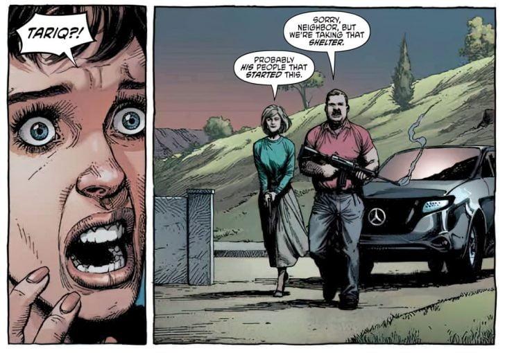 geiger comic book