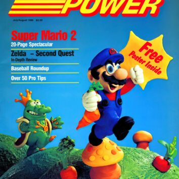 nintendo power posters of old