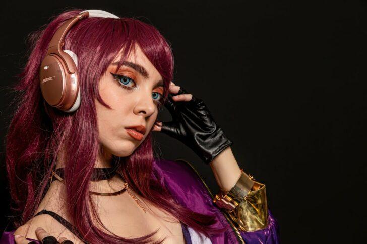 cosplay anime girl