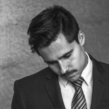 sad looking business man