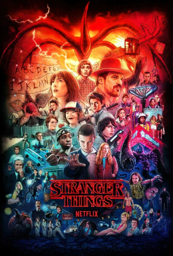stranger things poster season 3